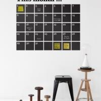 Väggkalender från Ferm Living