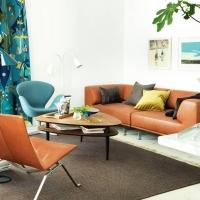 Tre vardagsrum - Tre stilar