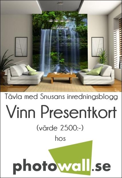 Tävla om Presentkort hos Photowall.se