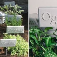 Trädgårdsplanering & Kryddskyltar
