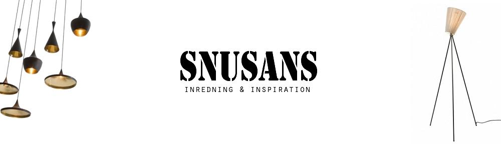 Snusans inredningsblogg