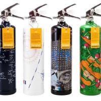 Fler specialdesignade brandsläckare