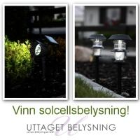Tävling - vinn solcellsbelysning